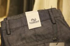 牛仔裤标签样机设计