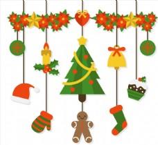 7个质感圣诞节挂饰